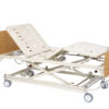 Universal Care Bed - bed without mattress, with backrest and leg raised